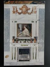 Tucks: Fireplace & Overmantel THE QUEENS DOLLS' HOUSE c1924 - No.4503 Ex