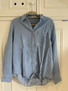 Acne Studios blue denim shirt/top, Size 36 (8-10)