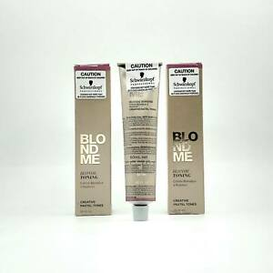 Schwarzkopf BLONDME Bleach & Tone - Blonde Toning 60ml