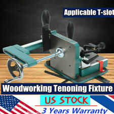 H7583 Industrial Woodworking Tenoning Fixture Table Saws Vise Clamp For T Slot