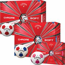 Callaway Chrome Soft TRUVIS Golfball 12er verschiedene Farben !!! SALE !!!