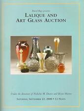 Rago ///  Lalique & Art Glass Auction Catalog 2000