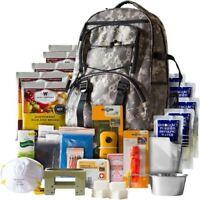 Emergency Survival Kit Backpack Waterproof Disaster Preparedness Supplies Food