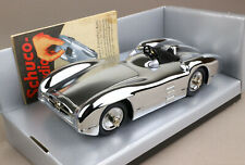 SCHUCO Classic Studio III chromed Mercedes Benz MB W196 Silberpfeil OVP MIB 1:18