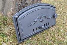 48 x 27cm Cast iron fire door clay / bread oven /outdoor pizza stove smoke house