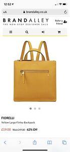 Fiorelli Yellow Backpack