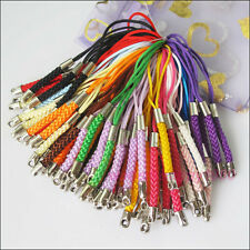 10 New Cell&Mobile Phone Dangle Strap/Lariat Charm Lanyard Cord Mixed 86mm