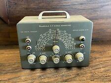 Vintage Heathkit RF Radio Signal Generator Ham Operators Estate - Heath Kit