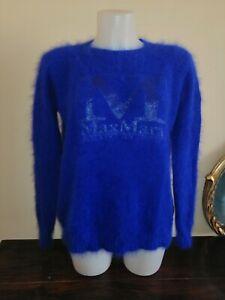 MAX MARA (made in Italy) MODELLO OVERSIZE Maglione Donna  Women's Sweater ANGORA