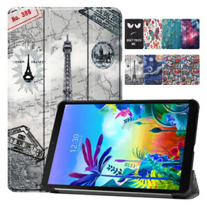 """For LG G Pad 5 10.1"""" FHD LM-T600L Shockproof New Leather Stand Tablet Case Cover"""