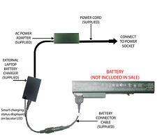 External Laptop Battery Charger for HP EliteBook 8530w 8540w 8730w 8740w, AV08