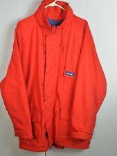 Atlantis (vintage Timberland):: Mens Gore Tex Hooded Full Zip Jacket (large) Red