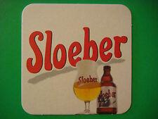 Beer Coaster Bar Mat ~ Brouwerij Roman Sloeber Belgian Ale ~ Oudenaarde, Belgium