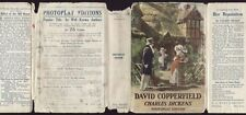 Dickens DAVID COPPERFIELD photoplay ed in dust jacket
