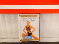 Method StabilityTarget Specifics Ball Workout on DVD New Sealed