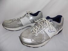 Gravity Defyer Men's G-Defy Pain Relieving Athletic Shoes Sz 11.5 Gray White Blu