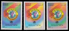 KUWAIT 1995-World Health Day, A World without Polio, Set of 3, MNH, S.G. 1421-23