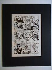 1969 DAREDEVIL # 50 BARRY WINDSOR-SMITH & JOHNNY CRAIG ROBOT Pg 8 PRODUCTION ART