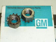 """NOS Corvette 3/8"""" Nut Pedal Column Star Washer Original Rare 63 64 65 66 67 GM"""