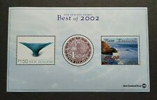 New Zealand Best of 2002 Stamps Kiwi Scenery Special Miniature Sheet MS Mint NH