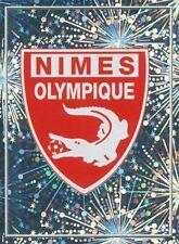 629 ECUSSON BADGE LOGO NIMES OLYMPIQUE METAL STICKER FOOT 2011 PANINI