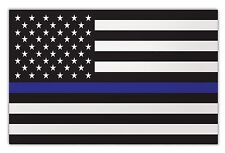 Large Size Magnet - Thin Blue Line United States Flag - Support Police Officers