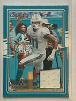 2020 Panini Donruss Davante Parker Miami Dolphins Jersey Threads Card Mint!