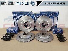 FOR BMW E46 320D 320CD 320 CD FRONT REAR MEYLE PLATINUM BRAKE DISCS PADS SET
