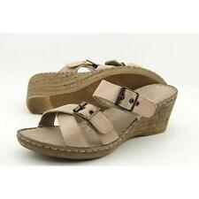 Wedge Wide (C, D, W) Synthetic Sandals & Flip Flops for Women
