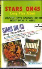 STARS ON LONG PLAY Stars on 45 RARE CASSETTE TAPE KOREAN IMPORT BEATLES