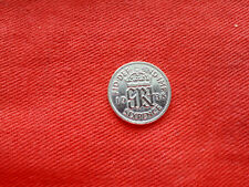 1938 Silver Sixpence