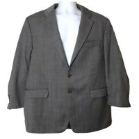 Lauren Ralph Lauren LRL Tweed Wool Sport Coat Button Blazer Gray Wool Men's 46R