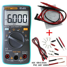 Digital Multimeter metros Fluke voltios tester Backlight ac/dc Voltmeter Portable