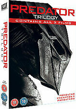 Predator Trilogy (DVD, 2011, 3-Disc Set, Box Set)
