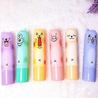 Cute Animal Cartoon Moisturize Makeup Cosmetic Lipstick Lip Balm Women Girl
