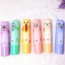 Cute Animal Cartoon Moisturize Makeup Cosmetic Lipstick Lip Balm Women Kid HC