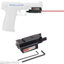 Tactical Low Profile Red Laser sight picatinny Weaver rail For Pistol Glock *