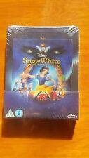 Snow White and the Seven Dwarfs RARE LENTICULAR STEELBOOK *NEW SEALED REGION B&C