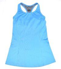 Nike Women's Dri Fit Racerback Athletic Tank Built in bra Light Blue Size XSmall