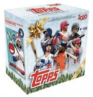 2020 Topps Holiday Box Sealed MLB Baseball Walmart Exclusive 🔥⚾️