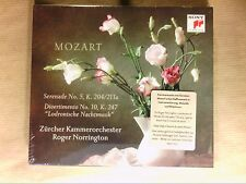 CD / NORRINGTON / ZURCHER KAMMERORCHESTER / MOZART / SERENADE N° 5 / NEUF