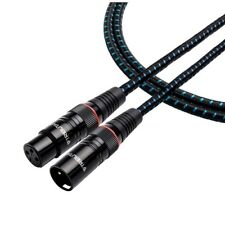 Tributaries 4ABM Series 4 Balanced Audio Cable with XLR Connectors (1.0 Meter)