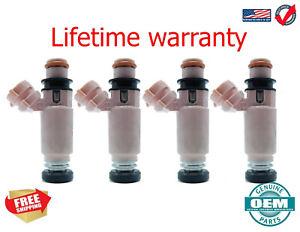 X4 Denso Fuel Injectors SUBARU FORESTER 2006-2013  565CC 2.5  USA! 195500-3910
