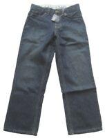 LANDS' END Jungen Jeanshose in Blau 100% Baumwolle Gr. 8
