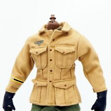 "1/6 Scale Soldier Clothes German Desert Jacket For 12"" Military Action Figure"