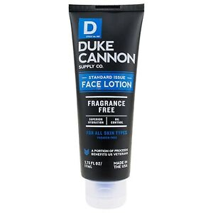 Duke Cannon Standard Issue Face Lotion 3.75 oz