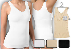 Mieder Top Formhemd Bodyformer Taillenformer Shapewear Damen seamless Unterhemd