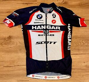 Hangar 15 Bicycles Team Kit by Castelli - Men's Size XS - Jersey + Bib Shorts