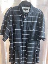 Banana Republic: Oxford Shirt Polo mens striped 2x Cotton