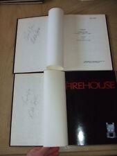 SIGNED 1974 Firehouse Burst Of Flame PILOT Script 13 Cast Lists Memo MPC FOY ABC